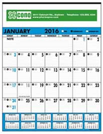 commercial calendars