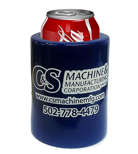 Vinyl coated can coolers