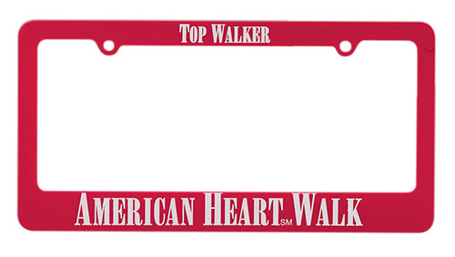 Classic License Plate Frames. Union made in USA